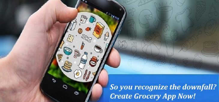 So you recognize the downfall? Create Grocery App Now!