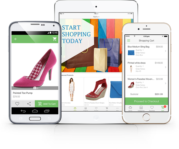 Ecommerce app for E commerce mobili