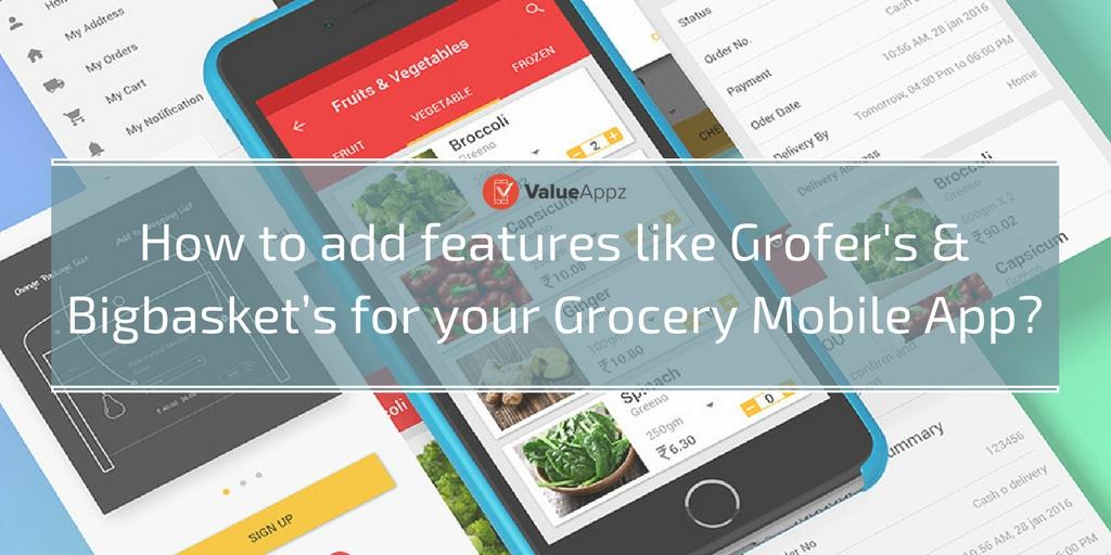On-demand grocery app development solution
