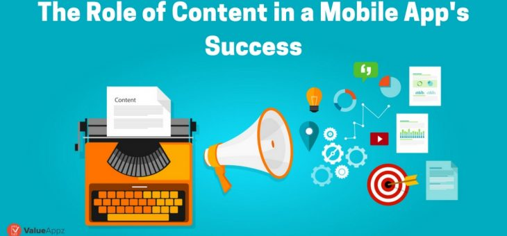 The Role of Content in a Mobile App
