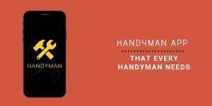 10 handyman app for your handyman business