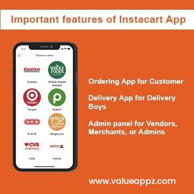 Build app like instacart