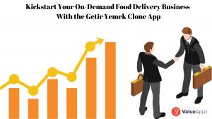Getir Yemek Clone App
