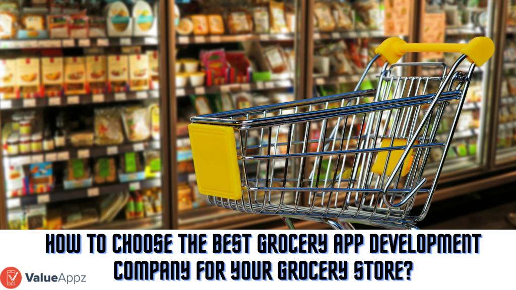 Grocery app development company