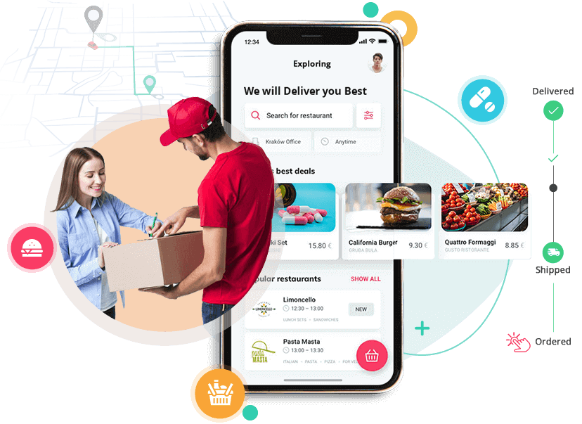 On Demand Delivery App Marketplace